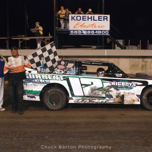 Davenport Speedway Photos (July 12th) Chuck Barton Photography